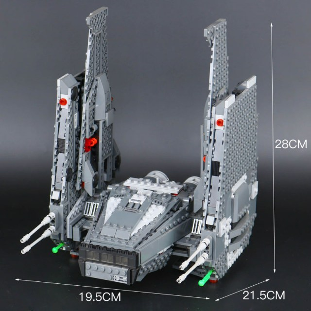 Конструктор LEPIN 05006 Star Wars Командный шаттл Кайло Рена